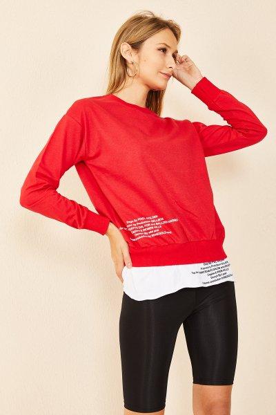 İngilizce Yazılı Gömlek SWEAT