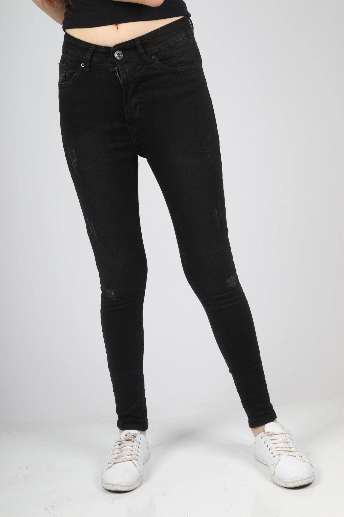 Tırnaklı Yüksekbel Pantolon