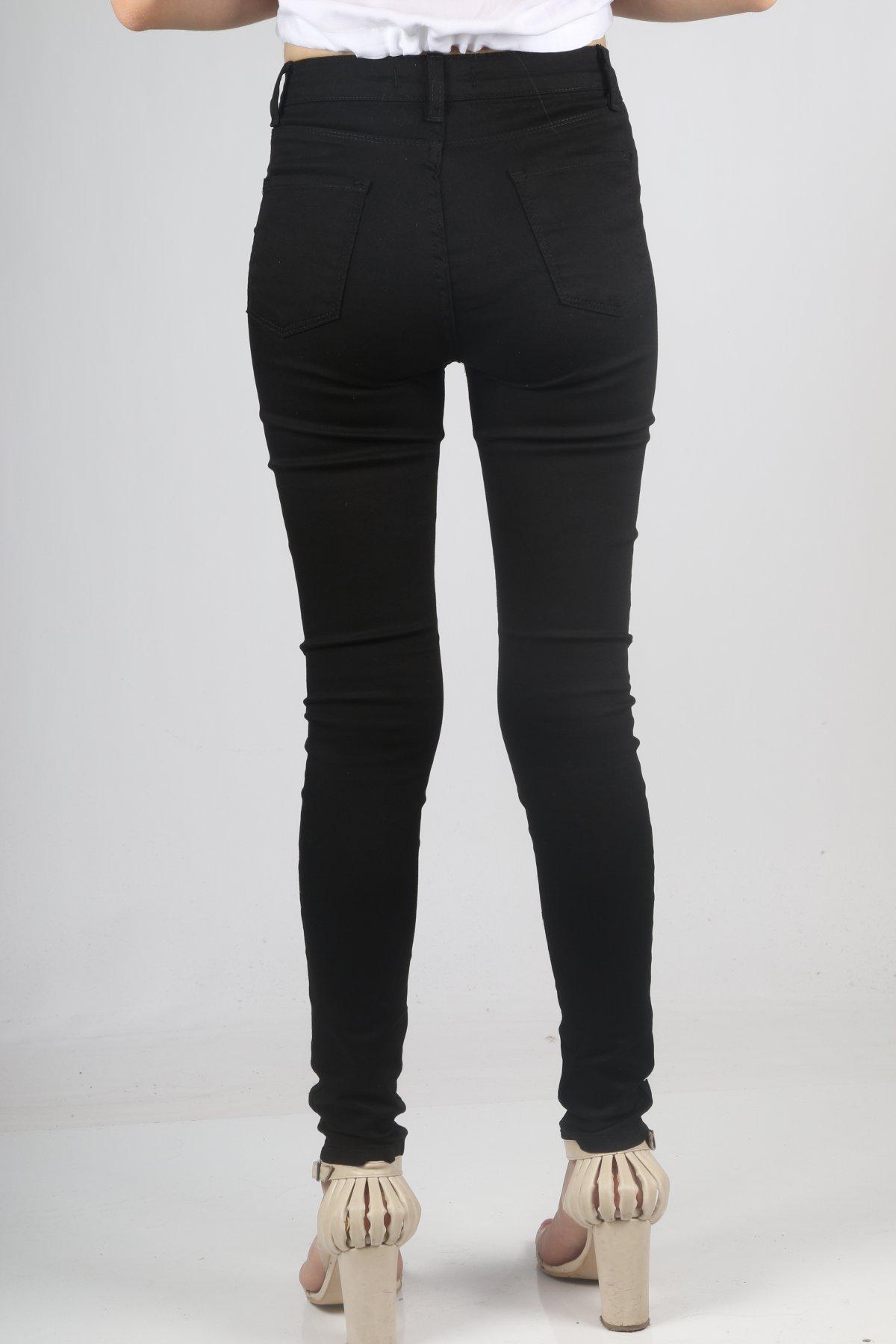Keten Yüksekbel Pantolon