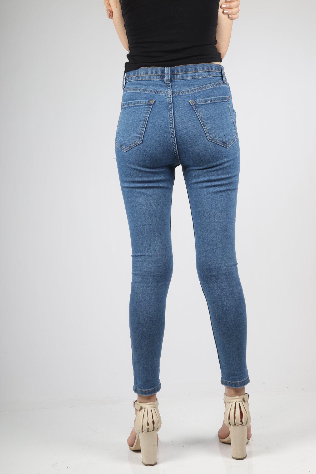 Bel Kuşaklı Darpaça Pantolon