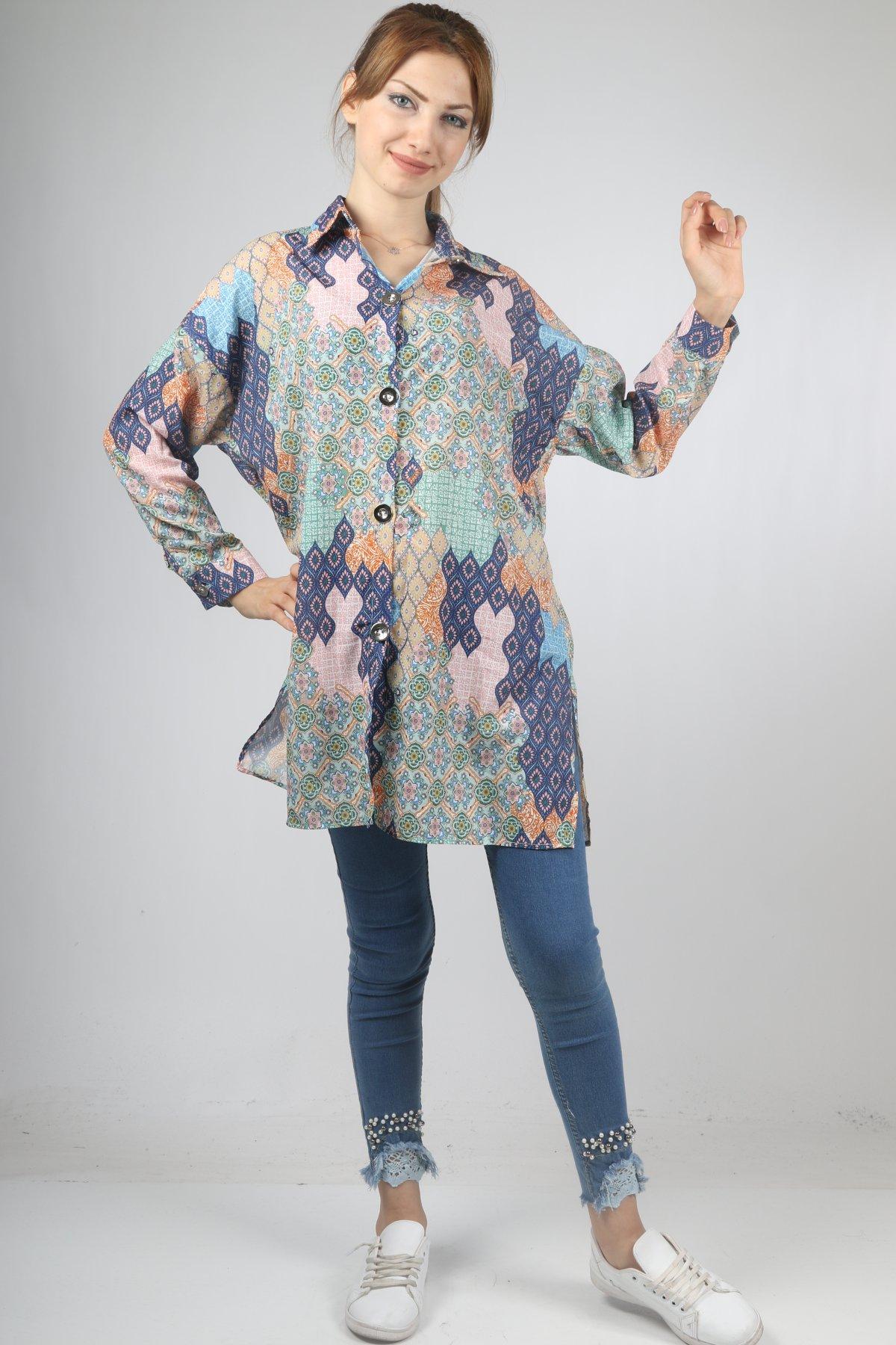 Kilim Desen Gömlek