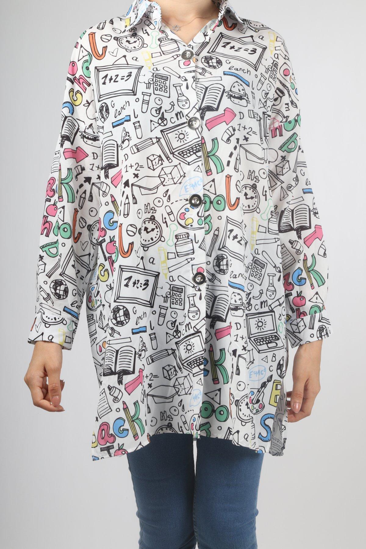 Sosyal Alfabe Gömlek