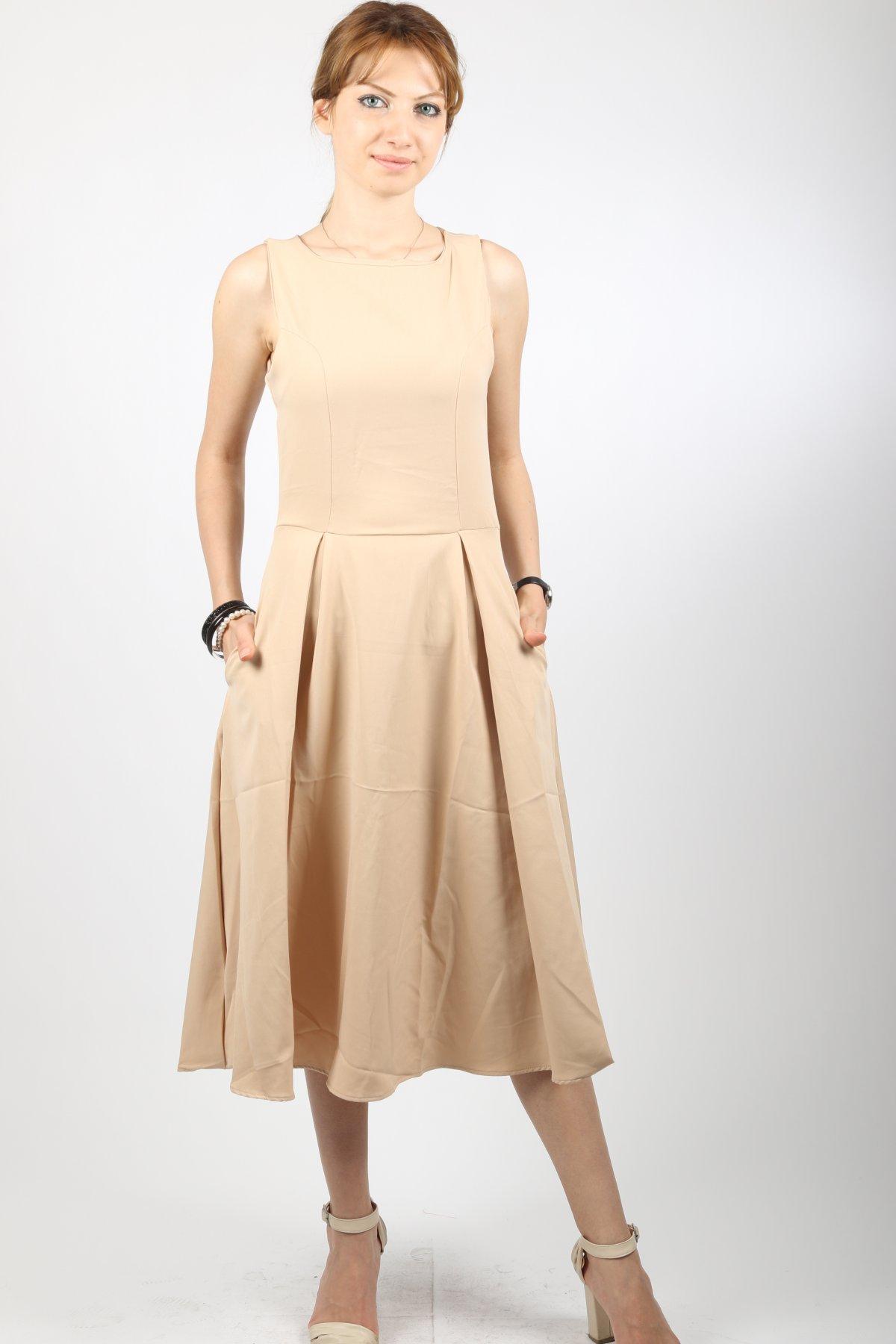 Sıfırkol Altı Salaş Elbise