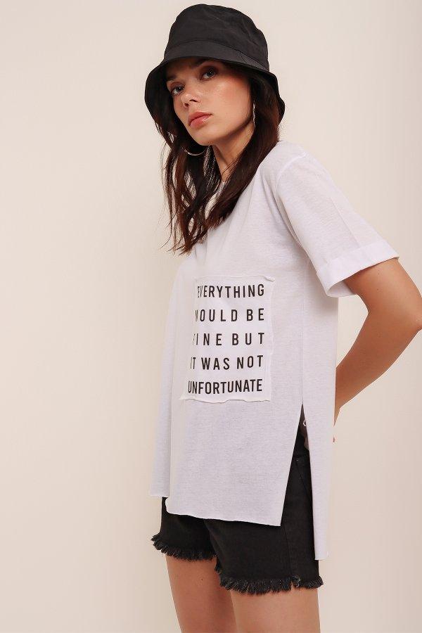 Everything Baskı Tshirt