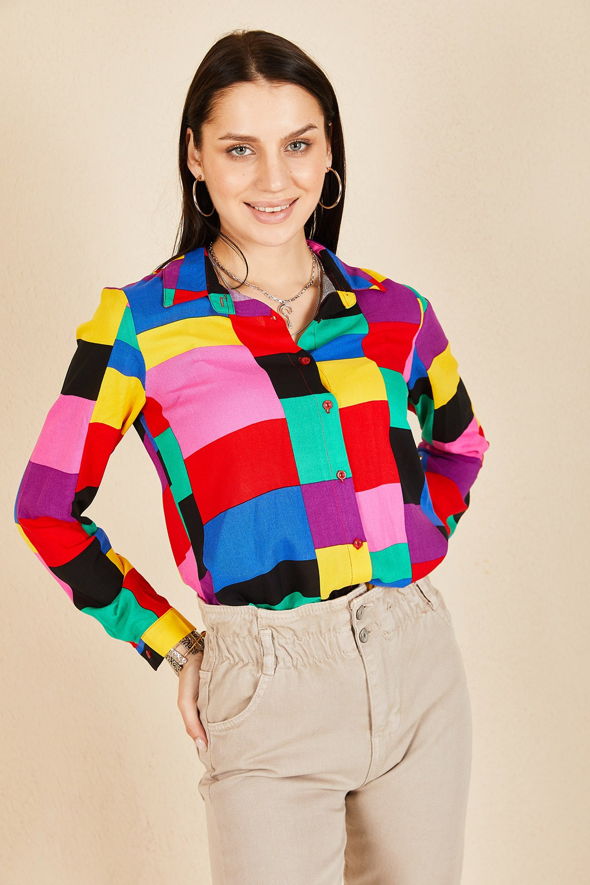 Renkli Gömlek