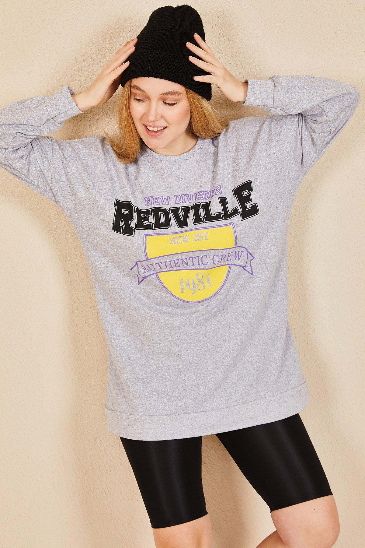 Redville Baskı Sweat