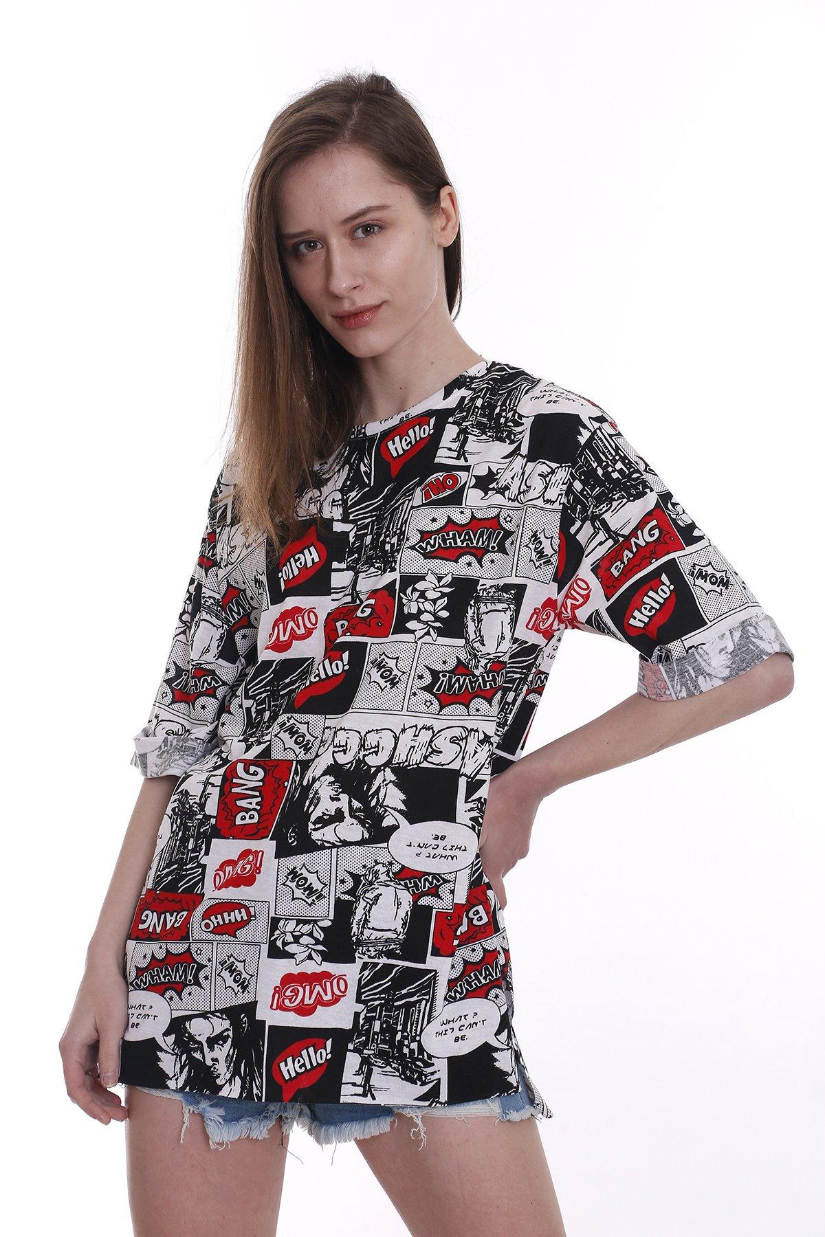 Bang Karikatür T-shirt