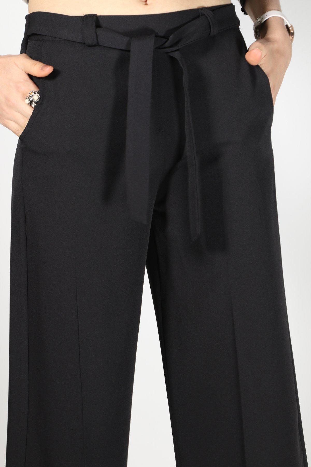 Bel Lastik Kuşaklı Pantolon